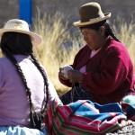 Wickeln der Alpakawolle, Puno, Peru (CIAP, WFTO)