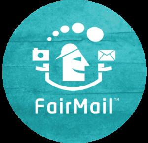 FairMail-FullLogoInCyaanCirkelGroot