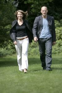 Tina og Lasse gående (2)